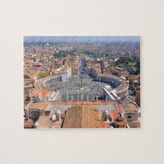 Puzzle Carré de St Peter à Vatican, Rome, Italie