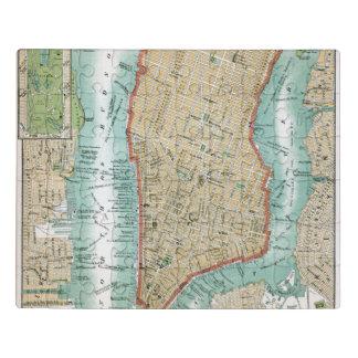 Puzzle Carte antique de Lower Manhattan et de Central