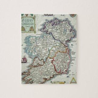 Puzzle Carte de l'Irlande - carte historique d'Eire Erin