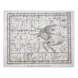 Puzzle Carte du plat XIV de constellations