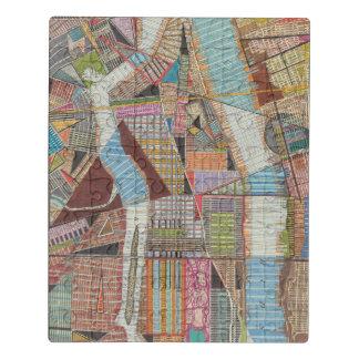 Puzzle Carte moderne de New York II