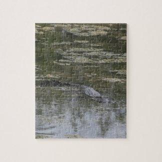 Puzzle Casse-tête d'alligator