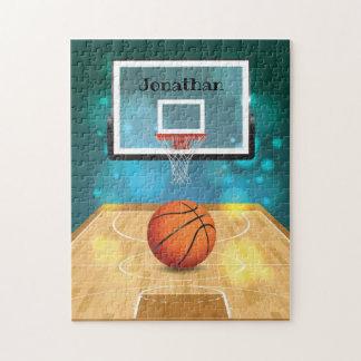 Puzzle Casse-tête de conception de basket-ball