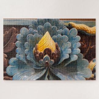 Puzzle Casse-tête de fleur de Lotus