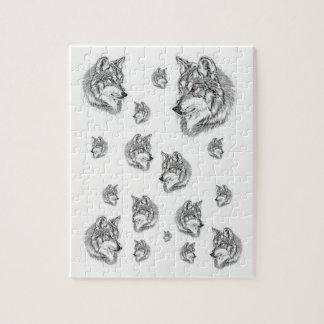 Puzzle Casse-tête de loup