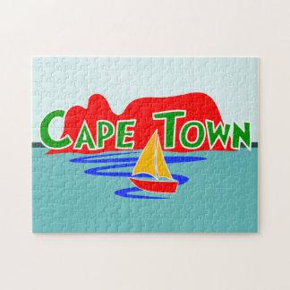 Puzzle Casse-tête de montagne de Tableau de Cape Town