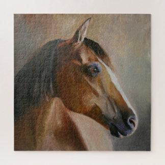 Puzzle Casse-tête de portrait de cheval