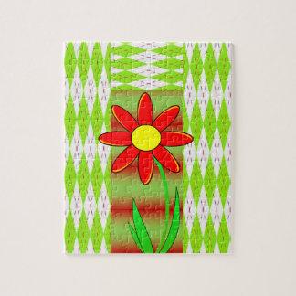 Puzzle Casse-tête florale