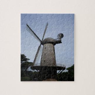 Puzzle Casse-tête néerlandaise de moulin à vent de San