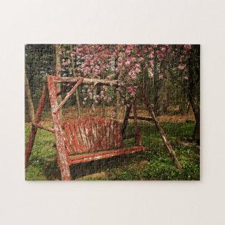 Puzzle Casse-tête - oscillation en bois de pays -