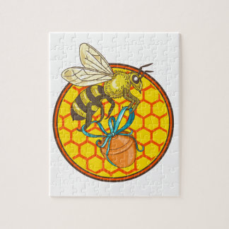 Puzzle Cercle de transport de ruche de pot de miel de
