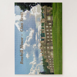 Puzzle Chambre de Bowhill - clan Scott