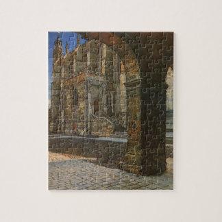Puzzle Chapelle d'université d'Eton par Anna Alma Tadema