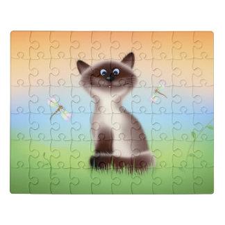 Puzzle Chat astucieux