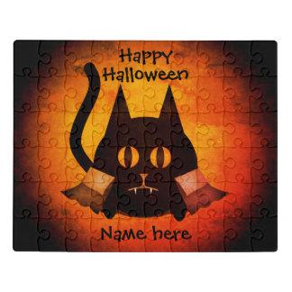Puzzle Chat de vampire de Halloween