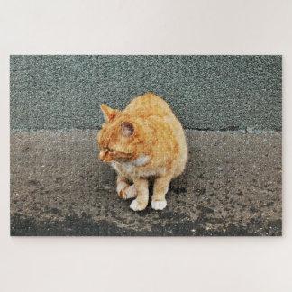 Puzzle Chat doux sur la rue