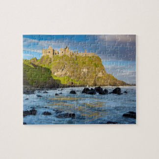 Puzzle Château côtier de Dunluce, Irlande