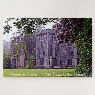Puzzle Château d'Armadale - clan Donald/MacDonald