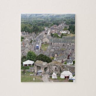 Puzzle Château de Corfe, Dorset, Angleterre