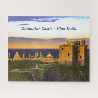 Puzzle Château de Dunnottar - clan Keith