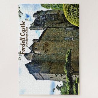 Puzzle Château de Fordell - clan de Henderson