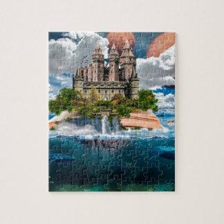 Puzzle Château de livre