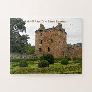Puzzle Château d'Edzell - clan Lindsay