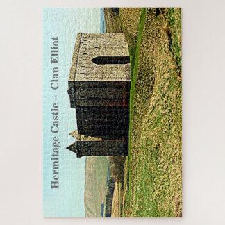 Puzzle Château d'ermitage - clan Elliot