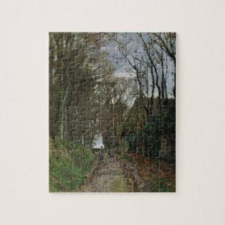 Puzzle Chemin de Claude Monet | en Normandie
