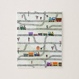 Puzzle Chemin de fer