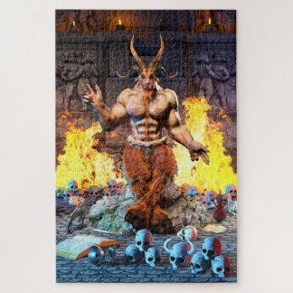 Puzzle Chèvre sabbatique Baphomet satanique
