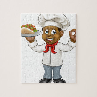 Puzzle Chiche-kebab de chef de bande dessinée