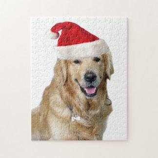 Puzzle Chien-animal familier de Labrador Noël-père Noël