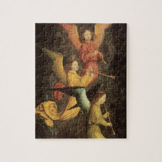Puzzle Choeur des anges par Simon Marmion, art de