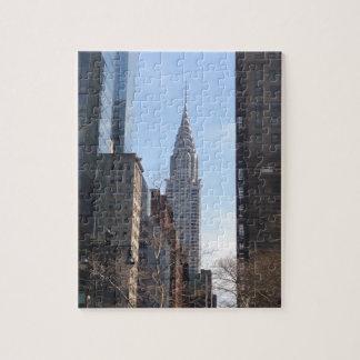 Puzzle Chrysler établissant le Midtown de gratte-ciel de