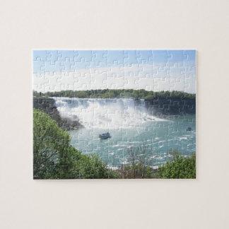 Puzzle Chutes du Niagara détendant la casse-tête