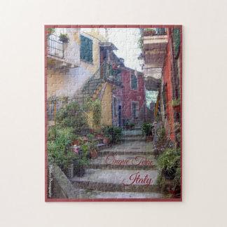 Puzzle Cinque Terre (rue de Monterosso)