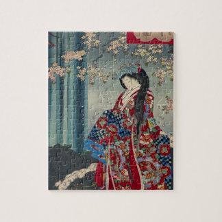 Puzzle Classique japonais de cool d'art de Madame Japon