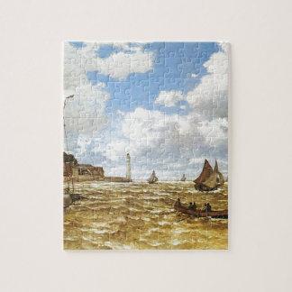Puzzle Claude Monet - bouche de l'illustration de la