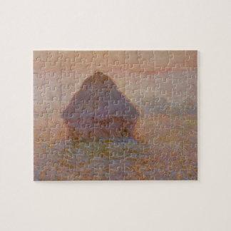 Puzzle Claude Monet | Grainstack, Sun dans la brume