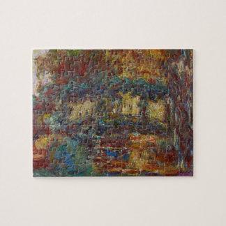 Puzzle Claude Monet | le pont japonais