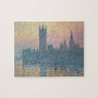 Puzzle Claude Monet | les Chambres du Parlement, coucher
