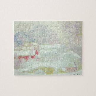 Puzzle Claude Monet | Sandviken, Norvège
