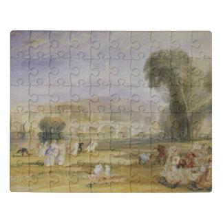 Puzzle Colline de Richmond et pont, Surrey