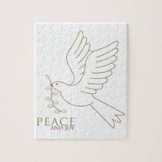 Puzzle Colombe de paix