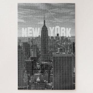 Puzzle Commerce mondial d'Empire State Building d'horizon