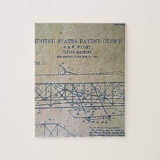 Puzzle Conception de brevet de frères de Wright