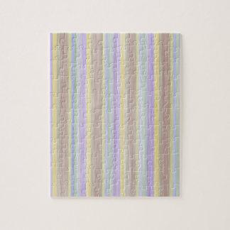 Puzzle conception de style de couleurs en pastel de livre