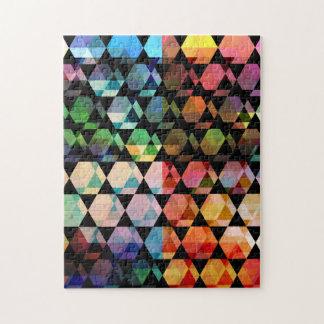 Puzzle Conception graphique d'hexagone abstrait