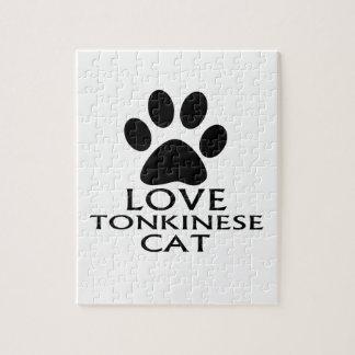 PUZZLE CONCEPTIONS DE CAT DE L'AMOUR TONKINESE